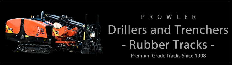 Rubber Tracks for Drillers