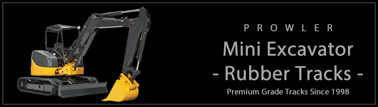 Rubber Tracks For Mini Excavators